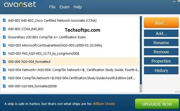 VCE Exam Simulator Key