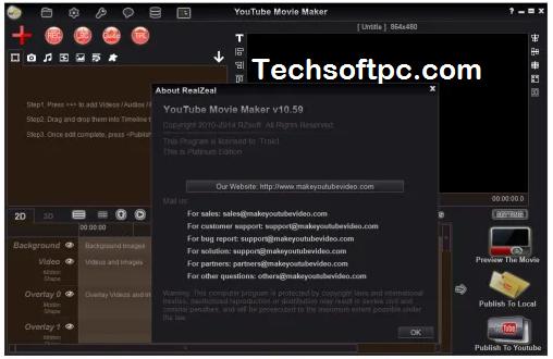 YouTube Movie Maker Key